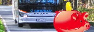 Jak kupić tani bilet autokarowy Sindbad? Czy karta stałego klienta daje jakieś zniżki?